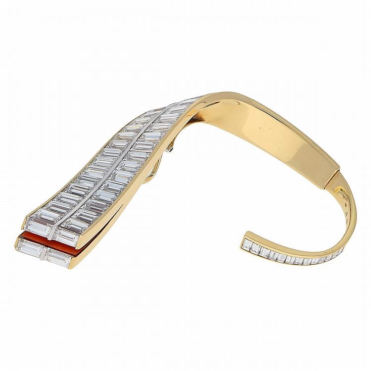 18K Yellow Gold Earring | Einzelner Ohrring aus 750er Gelbgold