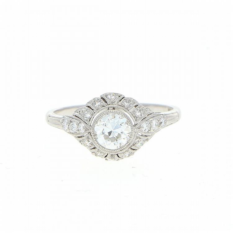 Diamond Ring - Platinum | Ring aus Platin