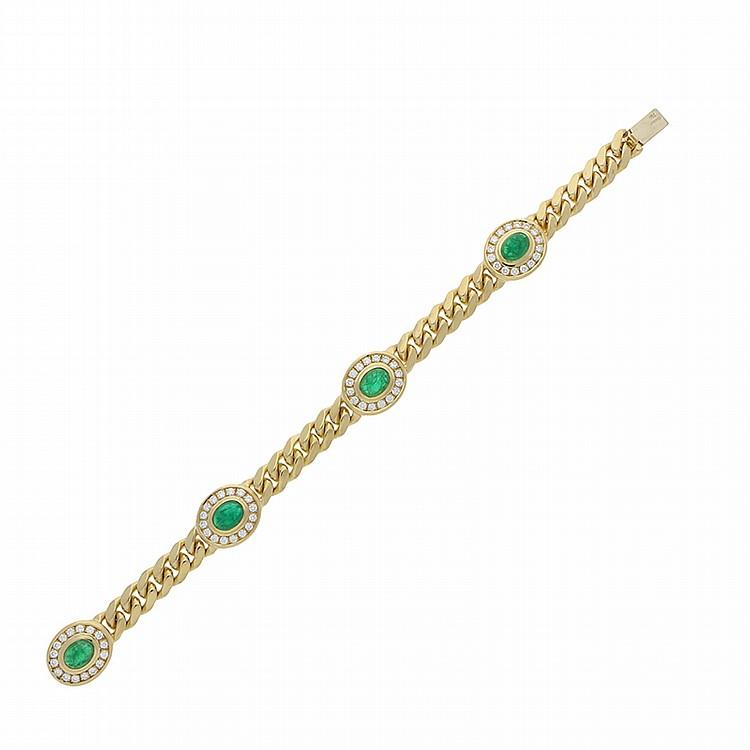 18K Yellow Gold Bracelet | Armband aus 750er Gelbgold