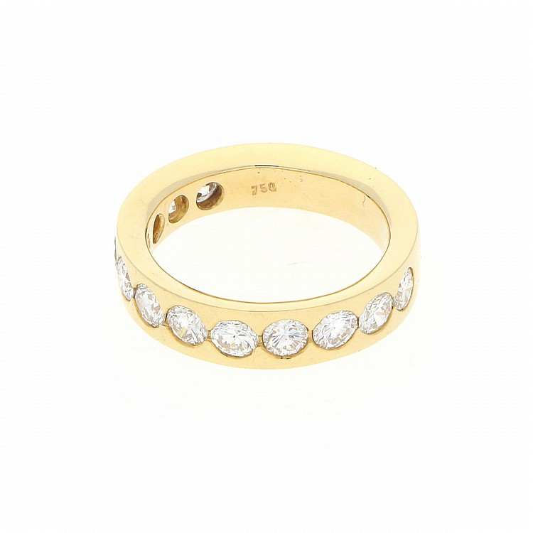 18K Yellow Gold Ring | Ring aus 750er Gelbgold