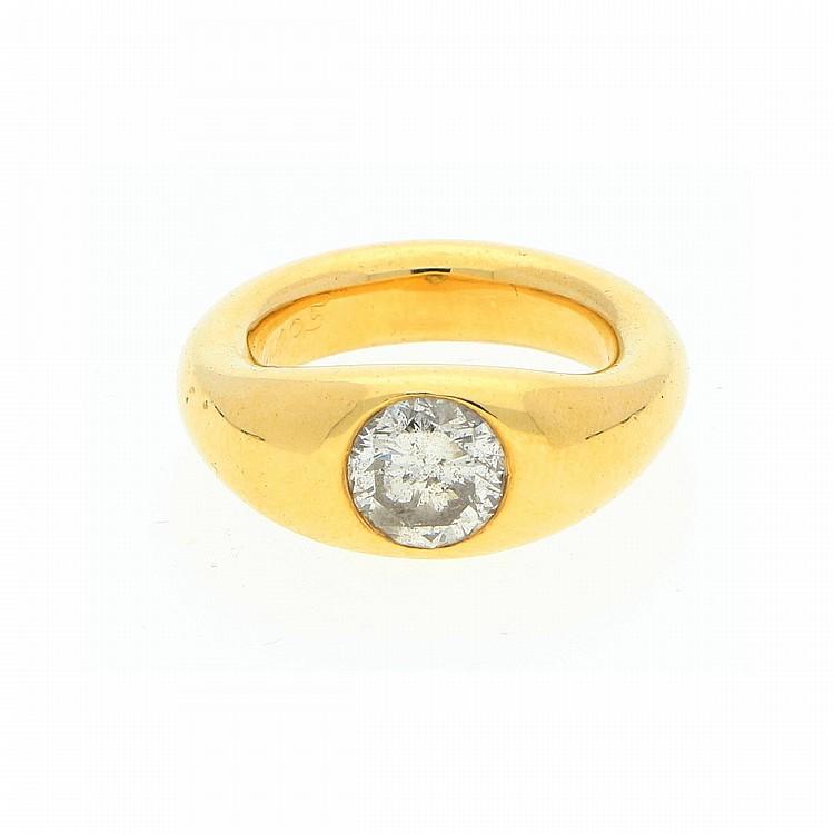 18K Yellow Gold Ring | Ring aus 750er Gelbgold