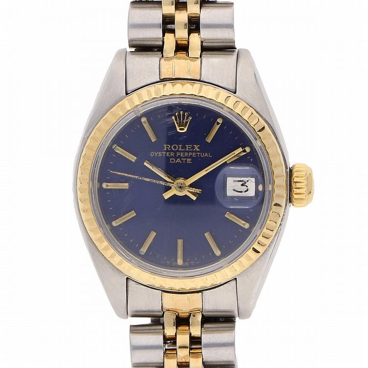 Bicolor Rolex Datejust Womens Wristwatch | Rolex Datejust Damenarmbanduhr bicolor