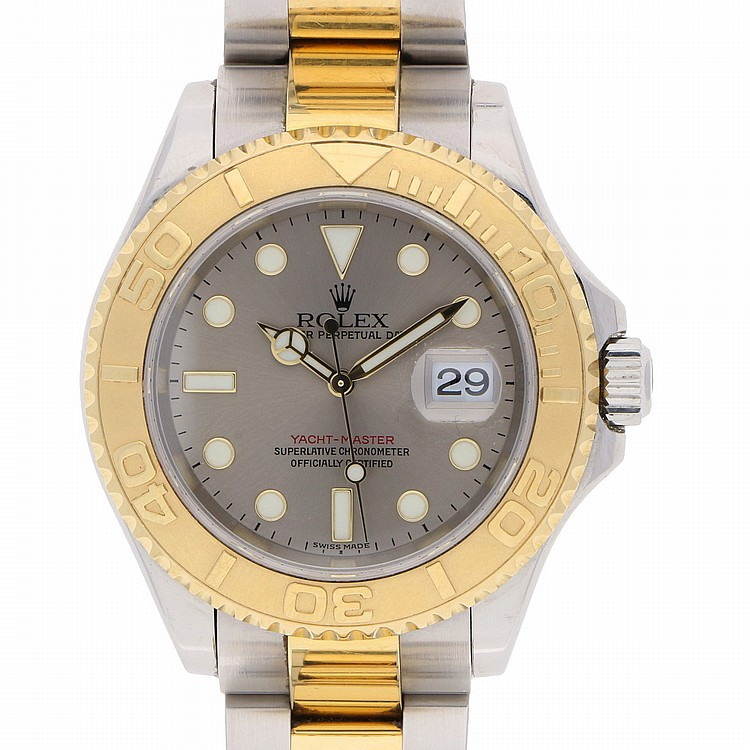 Bicolor Rolex Yacht-Master Chronometer Wristwatch   Rolex Yacht-Master bicolor Chronometer