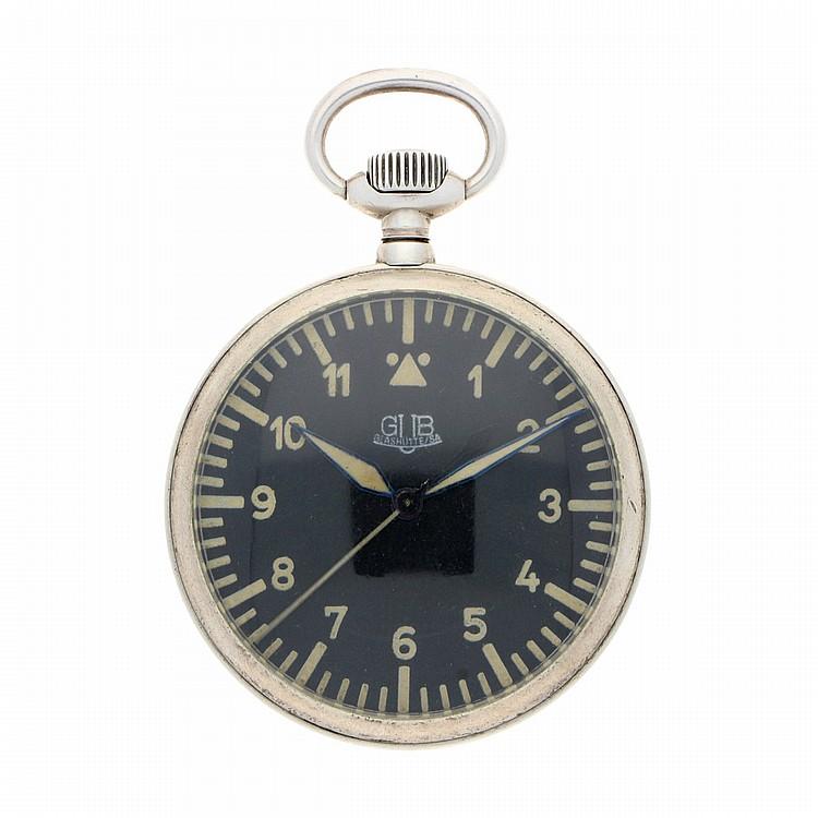 Silver Glashütte (GUB) Pocket Watch | Silberne Beobachtungsuhr Glashütte (GUB)