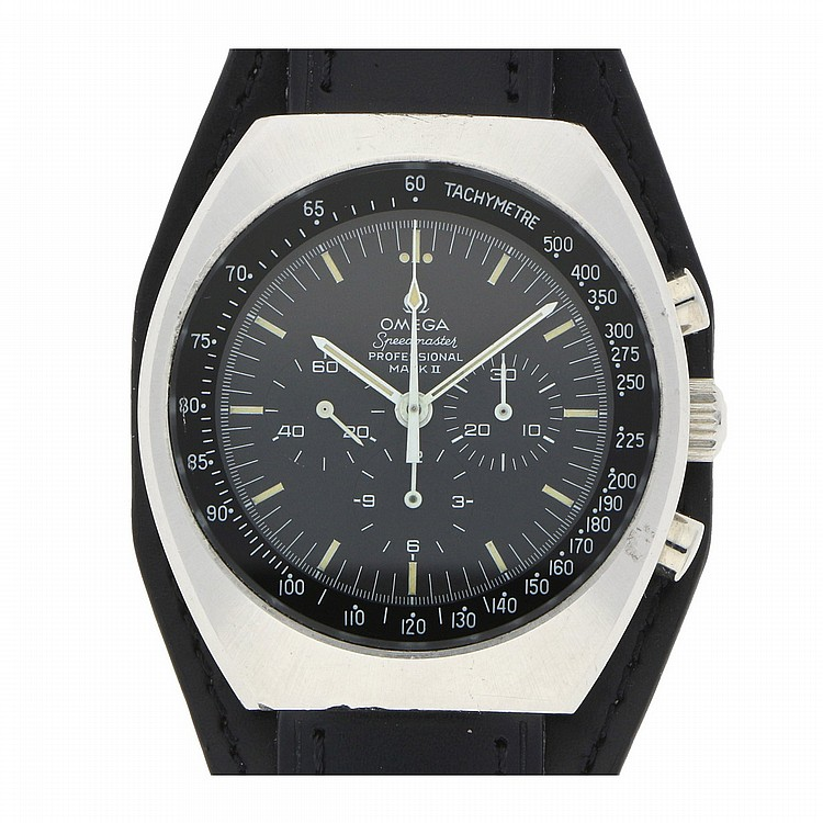 Omega Speedmaster Professional Mark II Mens Wristwatch | Omega Speedmaster Professional Mark II Herrenarmbanduhr