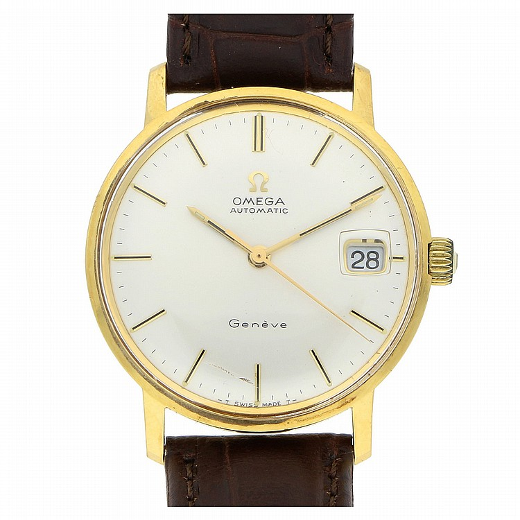 14K Yellow Gold Omega Wristwatch | Armbanduhr Omega