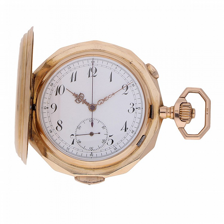 Goldsavonette Pocket Watch features: Minute repetition | Goldsavonette mit Minutenrepetition