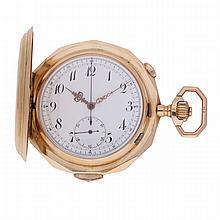 Goldsavonette Pocket Watch features: Minute repetition   Goldsavonette mit Minutenrepetition