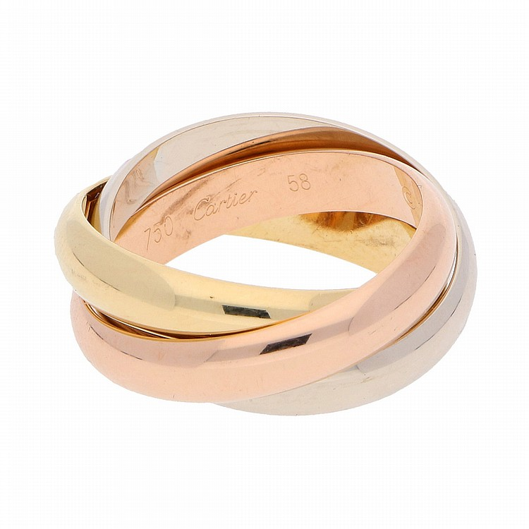 18K Yellow Gold White Gold Rose Gold Cartier