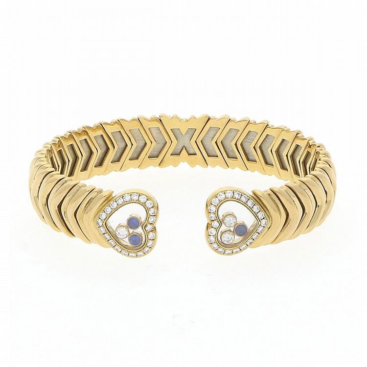 18K Yellow Gold Chopard Bangle | Armreif