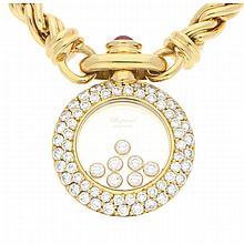 18K Yellow Gold Chopard Necklace | Collier