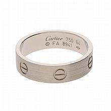 18K White Gold Cartier Ring | Ring aus 750er Weißgold