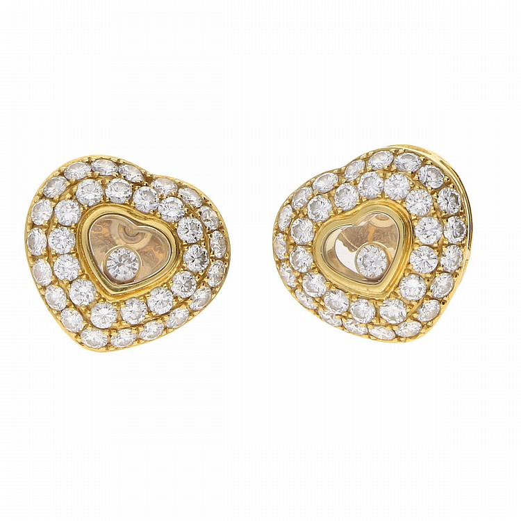 18K Yellow Gold Earrings | Ohrstecker aus 750er Gelbgold