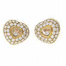 18K Yellow Gold Earrings | Ohrstecker aus 750er Gelbgold