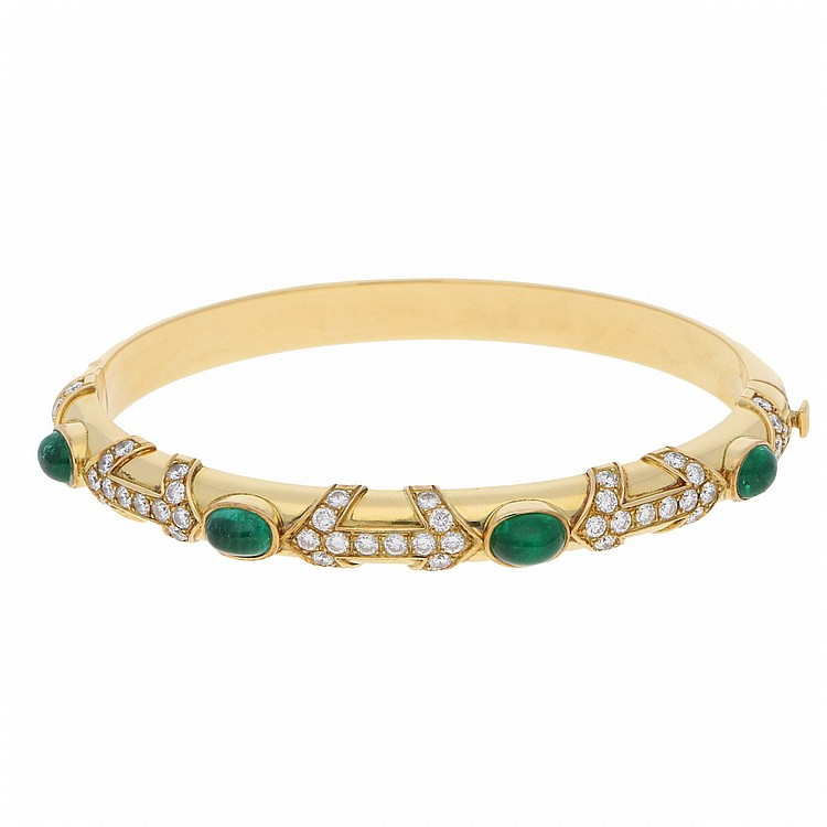 18K Yellow Gold Bangle | Armreif aus 750er Gelbgold