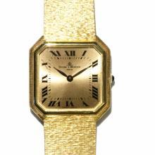 18K Yellow Gold Wrist Wristwatch Baume Mercier | Armbanduhr