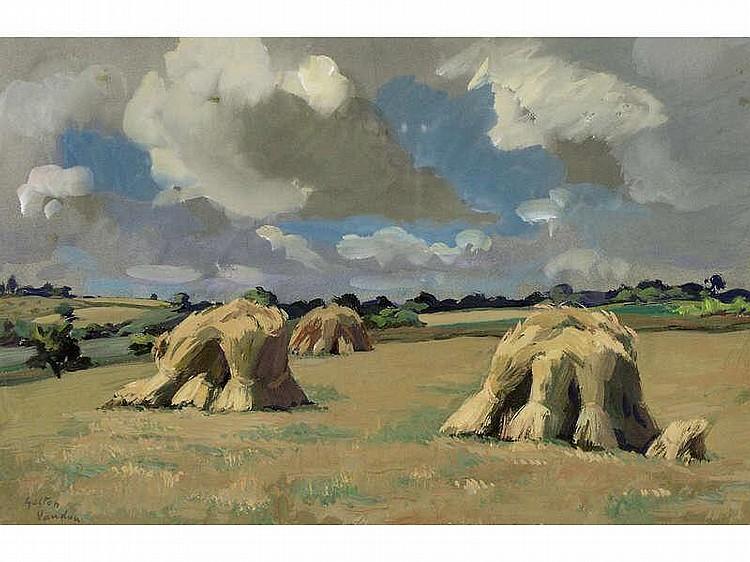 Gaston Vaudou: [French 1891-1957] TOURAINE, GEZBES