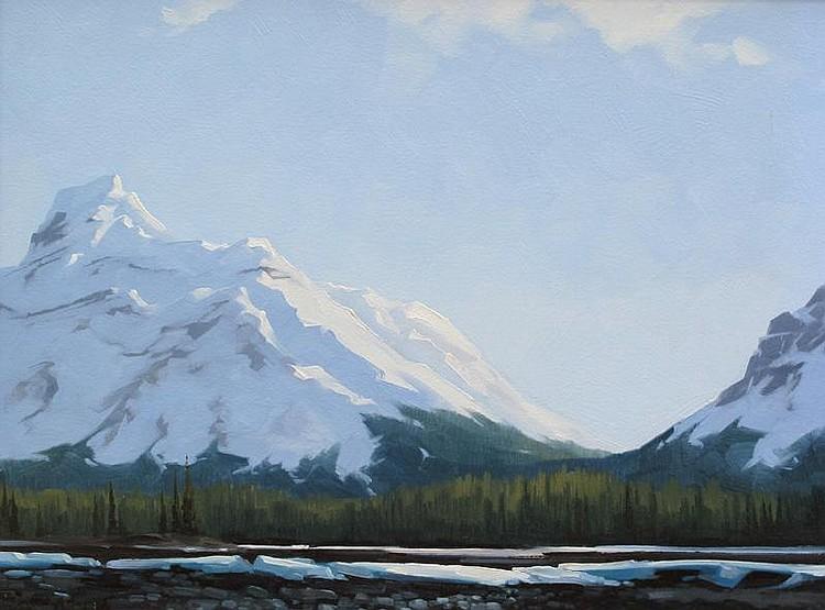 Karl E. Wood Canadian [1944-1990] ATHABASCA RIVER,