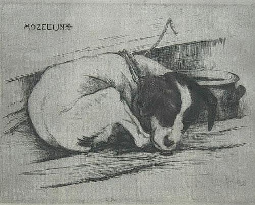 Adrianus Johannes Grootens (Dutch, 1864-1957),