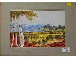 Roland Uburtja (Australian Aboriginal, 1940-1971)