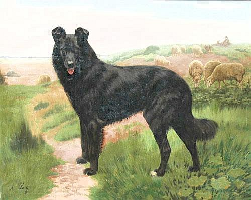 Alexandre Clarys (Belgian, 1857-1912) A large