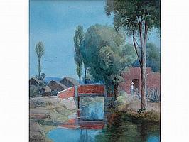 Mary Georgina Barton (Irish, 1861-1949) 'Among the