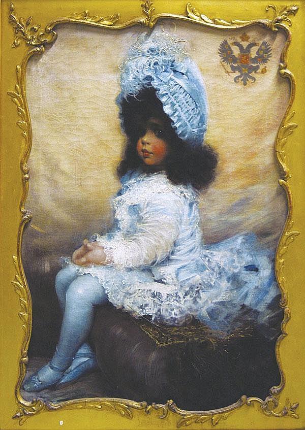 Henry Jones Thaddeus (Irish, 1860-1929) A portrait