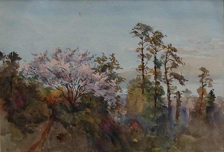 Conrad H. R. Corelli (1869-1956) Landscape with