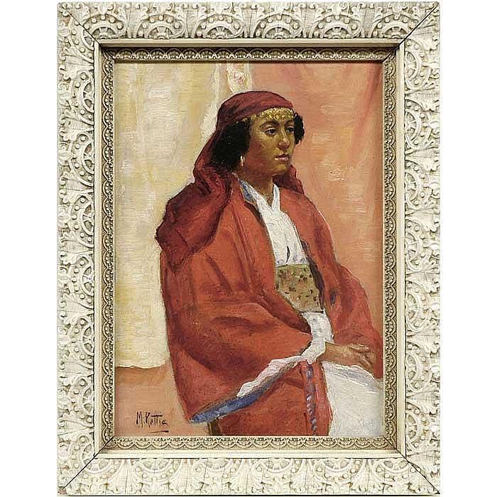 Martin Rettig American Indian portrait