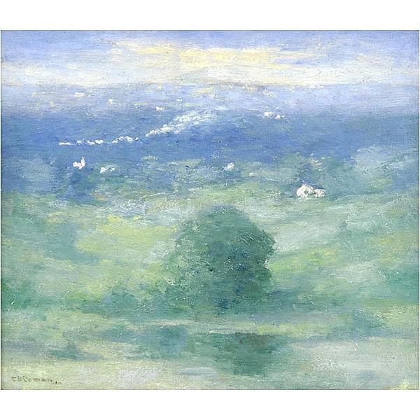 Charlotte Buell Coman, Tonalist landscape painting