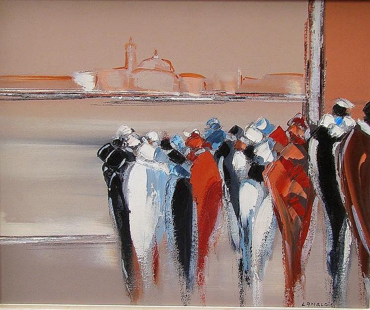 LANGLOIS Pierre-Gérard (1940-1994)-