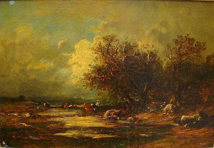 DUPRE Victor (1816-1879) -