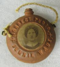Antique Jenny Wade Killed at Gettysburg, Souvenir from There, 1 1/4