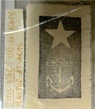 Civil War Union Navy Master at Arms, 2 1/4