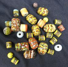 Thirty Murano Vintage Trade Beads