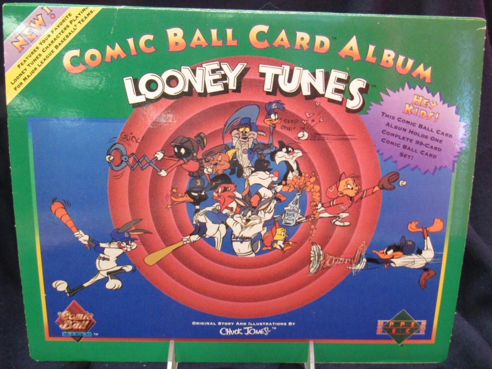 Upper Deck Looney Tunes Comic Ball Card Green Album Complet