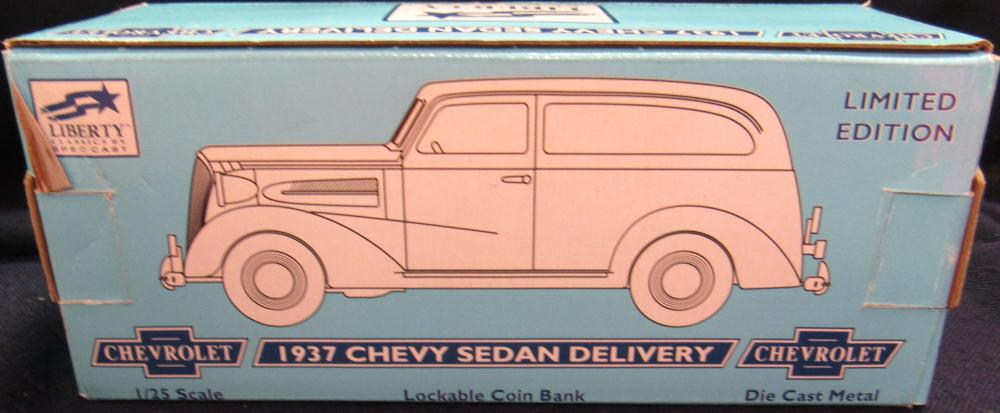 Liberty Classics 1 25 Coin Bank 1937 Chevy Sedan Delivery M