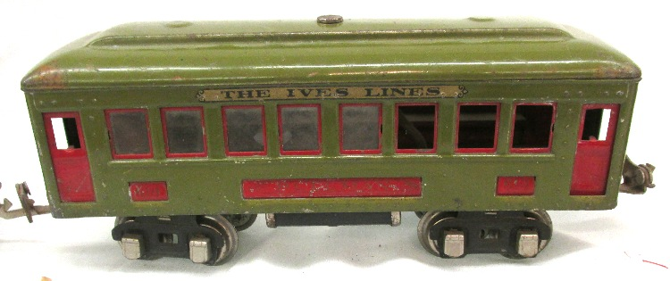 RARE Ives No  257 Transition Train Set  O-Gauge Pre War