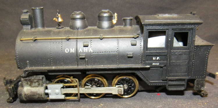 HO Revell UP Union Pacific Omaha 0-6-0 Saddle Tank Steam Eng
