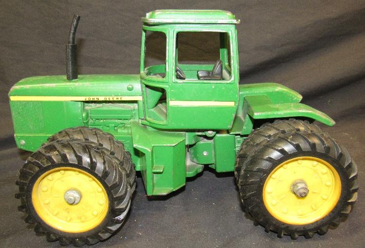 John Deere Dual Wheels : Ertl custom john deere wd dual wheel tractor quot long
