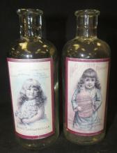 Two Reproduction Antique Bottles, 5 1/2