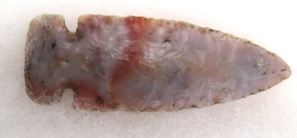 "2 3/4"" Gem Quality Translucent Flintridge Dovetail Arrowhead, Out of an Ohio Collection"