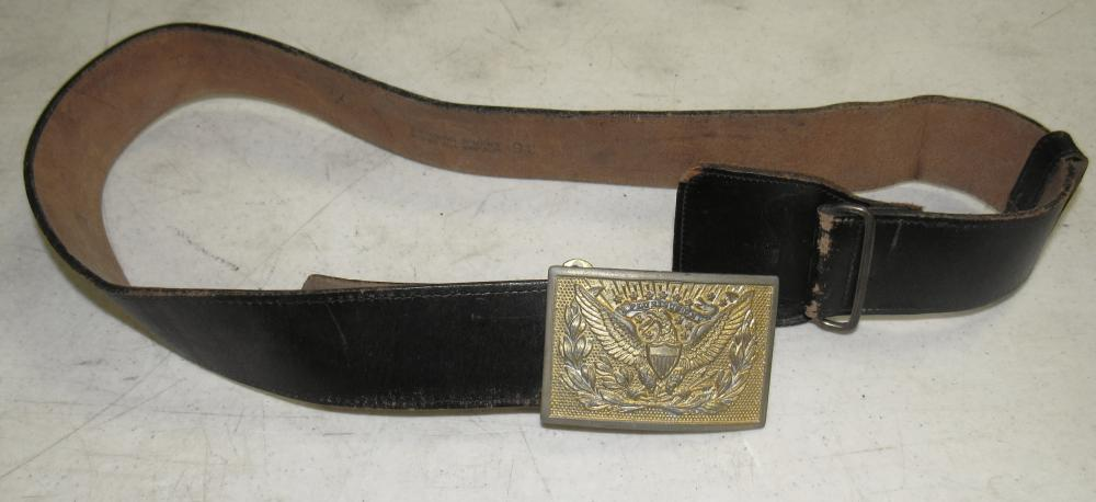 Civil War Buckle with New Belt, 1874