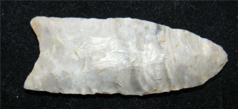 "2 3/4"" Small Folsum Flute, Hancock County, Ohio, Diller Collection"