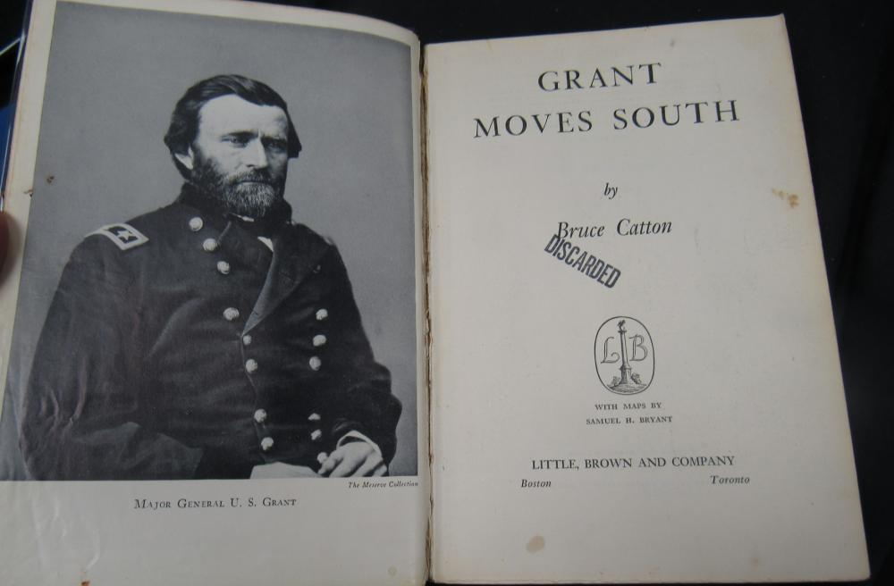 Bruce Catton Grant Moves South  1st Edition