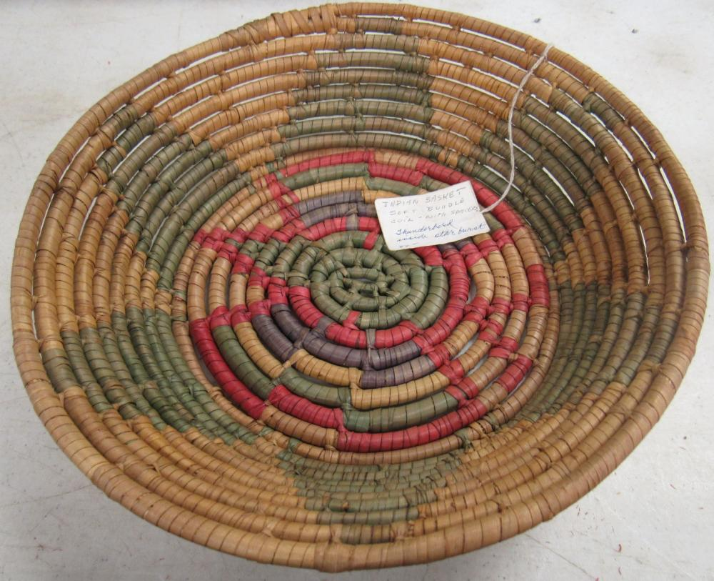 Indian Basket, Soft Bundle Coil with Spacers, Thunderbird in Starbirst