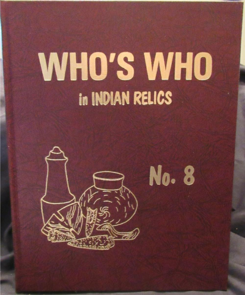 Whos' Who #8 HB Book, Mint