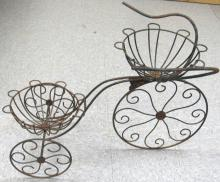 Vintage Wrought Iron Tricycle