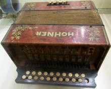 Antique  M. Hohner accordion, 6
