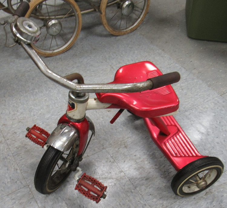 Antique Airplane Tricycle : Vintage antique childs tricycle amf junior trike unique usa